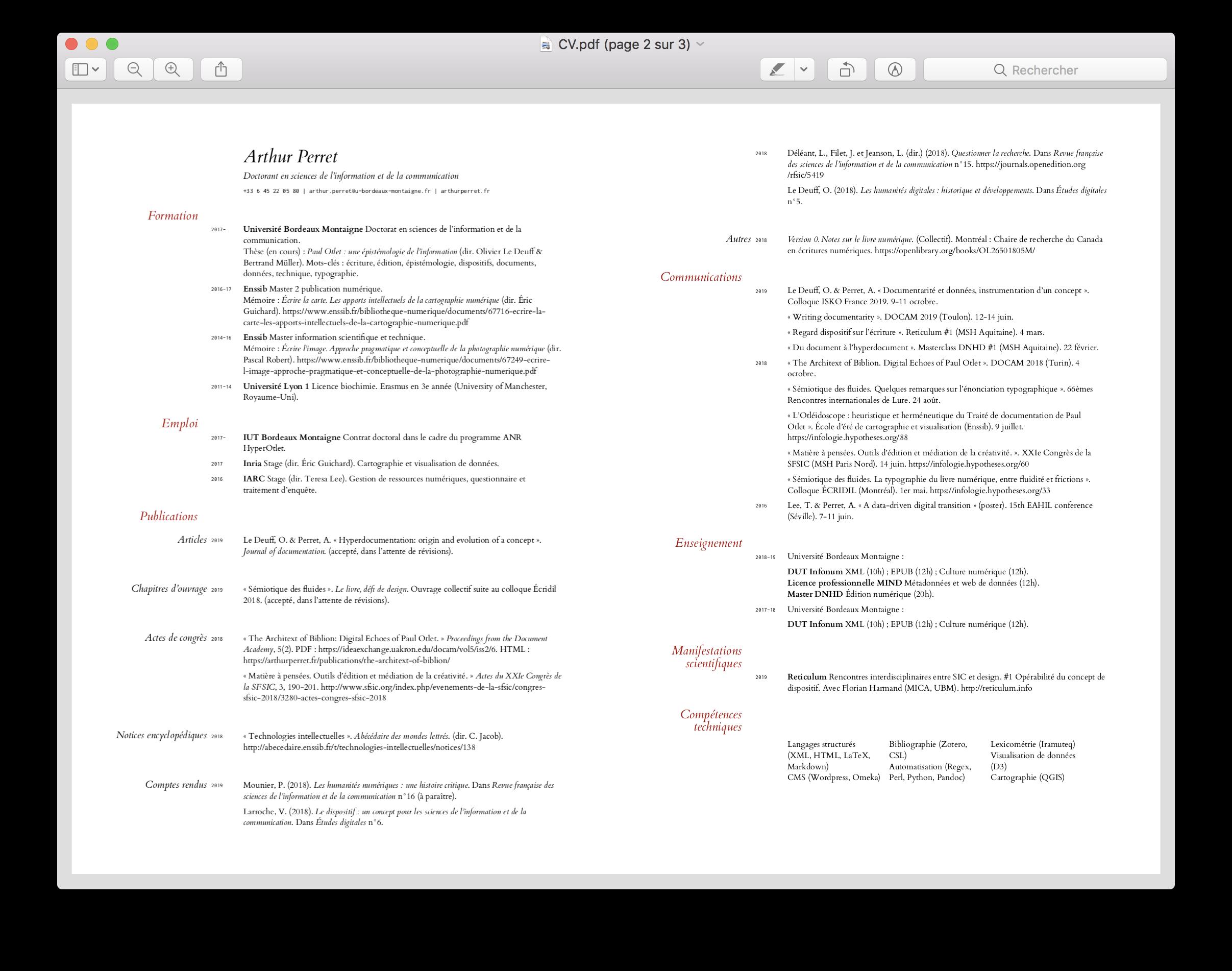 CV version PDF (double page)